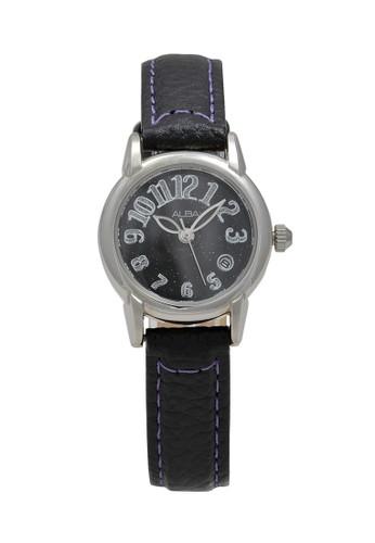 Alba black ALBA Jam Tangan Wanita - White Silver - Stainless Steel - AXT277 971CDAC32BA1D7GS_1