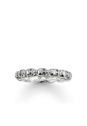 "Thomas Sabo silver Ring ""skull"" TH376AC0GMVASG_1"