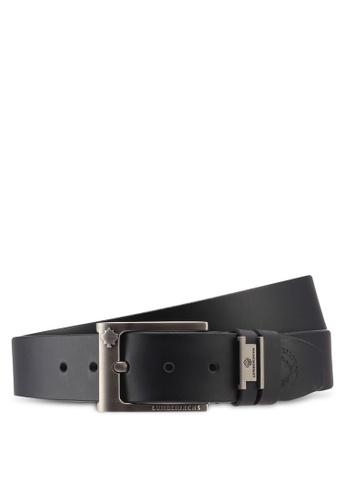 Lumberjacks black Lumberjacks 35mm Genuine Leather Extra Long Belt 8C82EACC603FEAGS_1