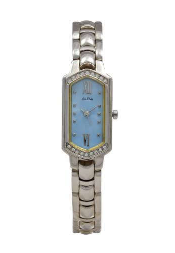Alba silver ALBA Jam Tangan Wanita - Silver Blue - Stainless Steel - AC3P77 2ACE6AC32CBEB8GS_1
