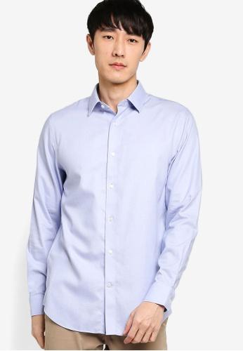 Banana Republic blue Basic Shirt 2A75FAA81DAC6CGS_1