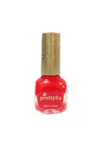 Pretty2u pink Candy Nail Polish-11 PR716BE95QNSMY_1