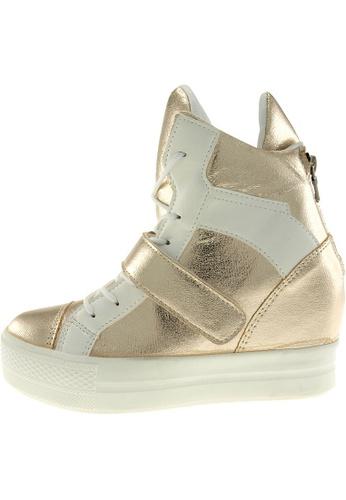 Maxstar Maxstar Women's C2 Velcro Hidden Heel Suede High Top Sneakers US Women Size MA168SH58CABHK_1