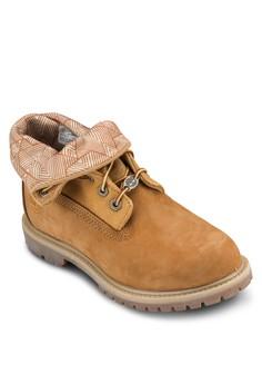 Timberland Womens Authentics 翻領靴