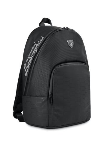 LAMBORGHINI black Automobili Lamborghini® LMBG3 Black Backpack 08B0AACE665F63GS_1