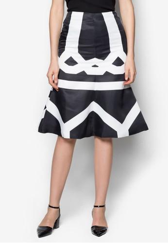 zalora 男鞋 評價Marra 及膝短裙, 服飾, 服飾