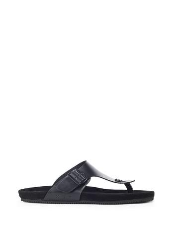 Navara black Anson Full Black EVA Sandals 0B0B1SH5ED5910GS_1