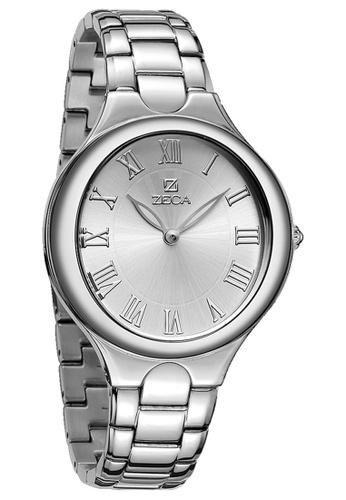 ZECA silver Zeca Watches Ladies Fashion Stainless Steel Analog - 151L Silver ZE260AC30SJDSG_1