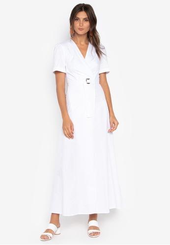 the___edit white Gemma Maxi Dress 70C6BAAD0DB055GS_1