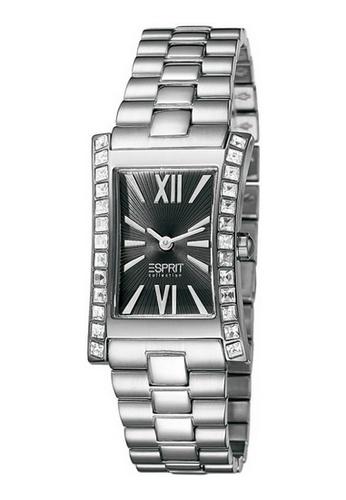 Esprit silver Esprit ESEL101122F07 ELEKTRA PURE BLACK Ladies Watch 79D02AC0937981GS_1