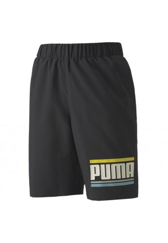 PUMA black CELEBRATION Boys Woven Shorts 5E553KAF2D9F0FGS_1