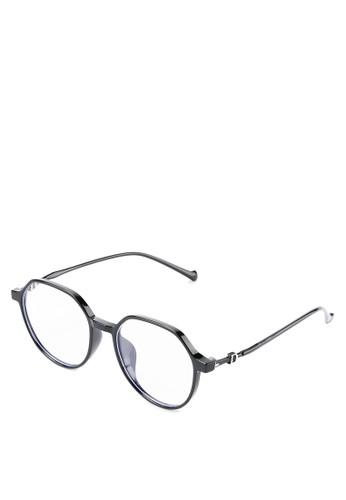 Kingship black Signature Kacamata Anti Blue Light Hexar Eyewear 6D64AGLB1B819CGS_1