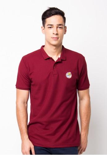 Endorse Polo Shirt E Girl Pl Maroon END-PF089
