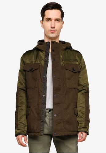 SUPERDRY 綠色 Corporal Field Jacket - Original & Vintage A31C0AADBB238DGS_1