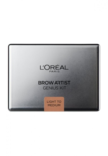 L'Oréal Paris L'Oreal Paris Brow Artist Genius Kit Light LO618BE61MKGMY_1
