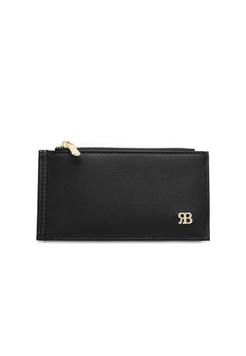Bethany Roma black Bethany Roma Card Holder Zip Coin - Black 54F21ACCA3425EGS_1