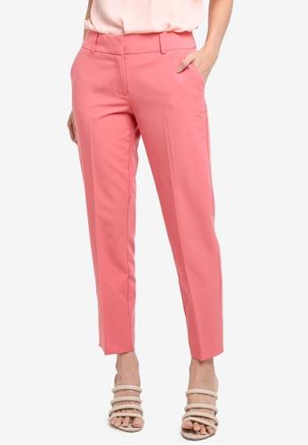 Dorothy Perkins pink Rose Split Hem Ankle Grazer 915FFAAEACC9DAGS_1