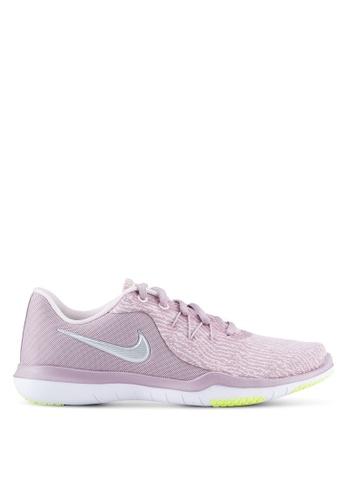 Nike pink Women's Nike Flex Supreme TR 6 Training Shoes NI126SH0STXLMY_1