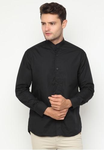 JOULDAS black Jouldas Black Men Shirt D8ADCAAB625F7DGS_1