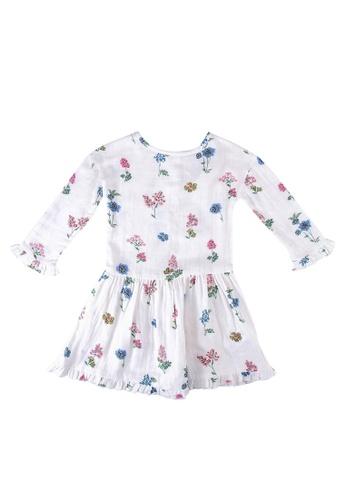 Cath Kidston beige Twilight Sprig Dress 3F644KAA800934GS_1