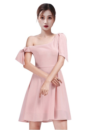 Urban Outlier pink One Shoulder Mini Dress 14D47AAB13862CGS_1