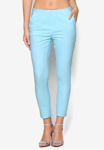 側拉鍊彩色九分esprit 品牌褲, 服飾, 長褲及內搭褲