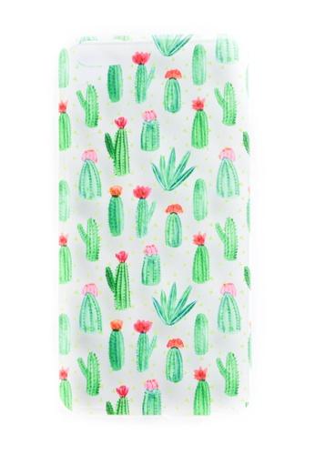 Fancy Cellphone Cases multi Cactus Soft Transparent Case for iPhone 6plus/6splus FA644AC55KKIPH_1