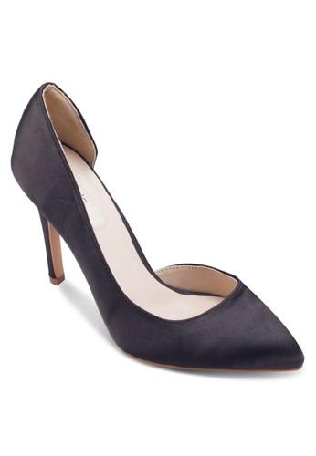 zalora 鞋評價Aria 側空尖頭高跟鞋, 女鞋, 絕美洋裝