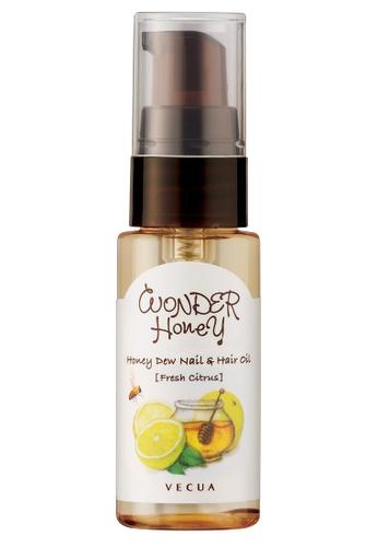 a85061640b4d8 Buy VECUA Honey Nail + Hair Oil - Citrus Online on ZALORA Singapore