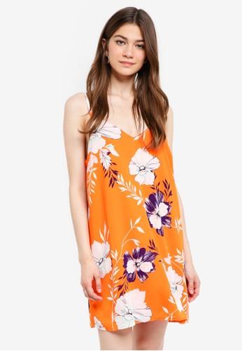Cotton On orange Woven Margot Slip Dress DBFB0AA3484437GS_1