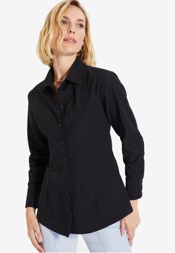 Trendyol black Black Shirt 5D15DAA1D4B591GS_1
