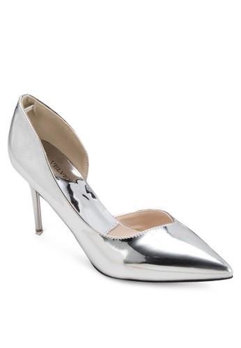Occasion 側鏤空尖頭高跟鞋,esprit 香港 女鞋, 鞋