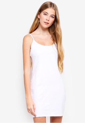 38c0d7b56200 Shop Supre Thin Strap Cami Dress Online on ZALORA Philippines