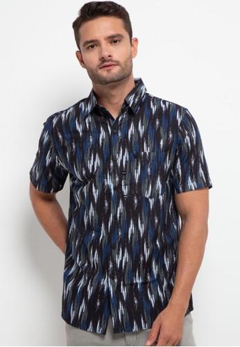 WALRUS black Short Sleeve Shirt Studio A2640AA73B9BFDGS_1