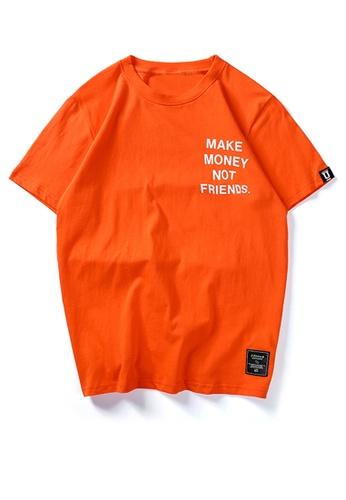 HAPPY FRIDAYS Trend Printed Short Sleeve T-shirt UP733 586B5AA8562F21GS_1