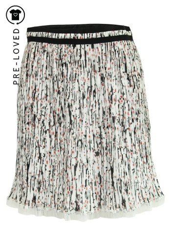 Carven multi Pre-Loved carven Printed Pleated Skirt 37ACCAA5349C95GS_1