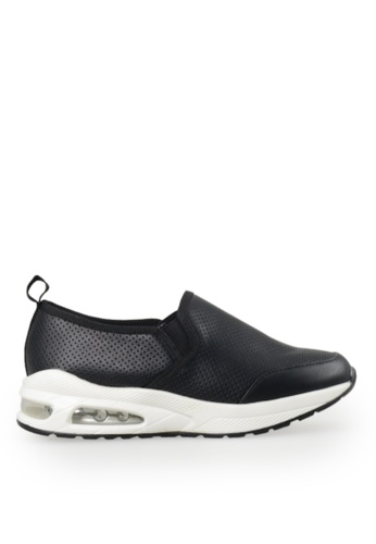 Footspot black FOOTSPOT - Simple Slip-on Sneakers C6829SH9608161GS_1