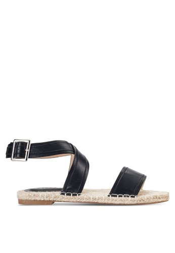 ZALORA black Strappy Espadrille Sandals AAC70SHE264D03GS_1