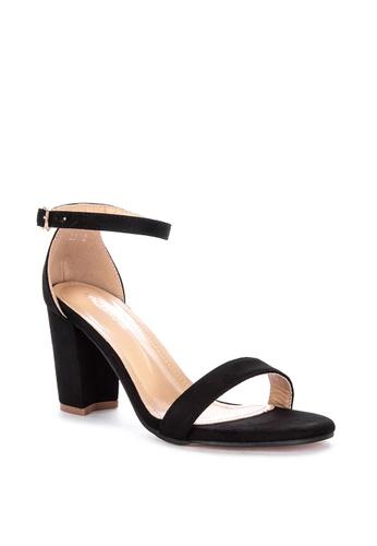 d96fcff1ce9 Shop Rock Rose Basic Block Heel Sandals Online on ZALORA Philippines