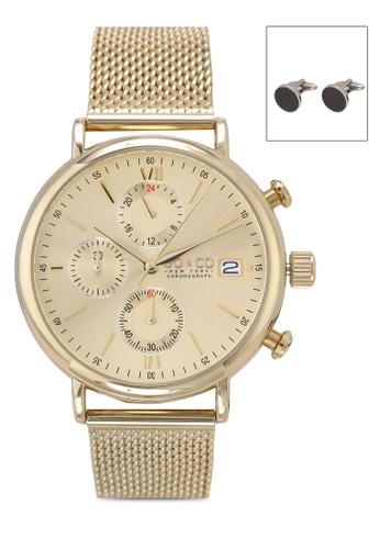 SO&CO gold Monticello set_5266m.4_Cf Watch Set A10C0AC22D7FF2GS_1