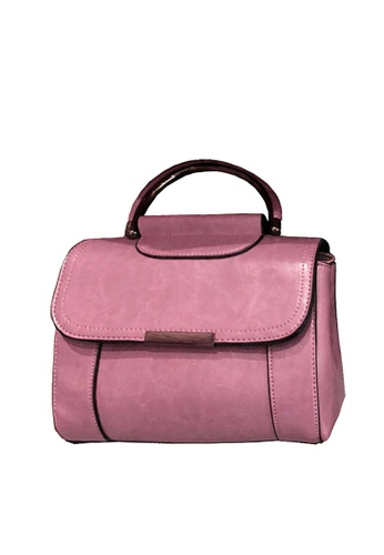 Twenty Eight Shoes pink VANSA Cow Leather Crossbody Bag VBW-Cb2176 9237CAC51891F2GS_1