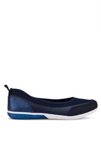 Bata 海軍藍色 質感平底鞋 6D157SH28AA5F6GS_1