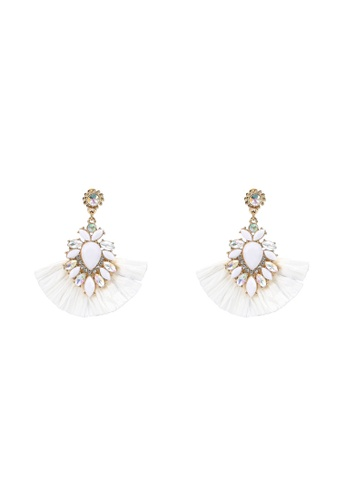 Call It Spring white Girema Earrings B60EAAC705CBB4GS_1