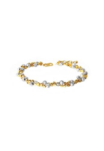TOMEI gold TOMEI Splendorous Arrayal of Glamorous Verve Bracelet,Yellow Gold 916 (SET-B2115-C-2C) 4BC9DAC6A3F467GS_1