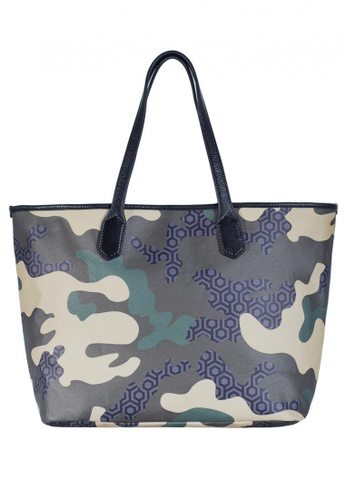 8bea3b8f0a4c Buy MISCHA MISCHA Jet Set Tote - Camo Green Online on ZALORA Singapore