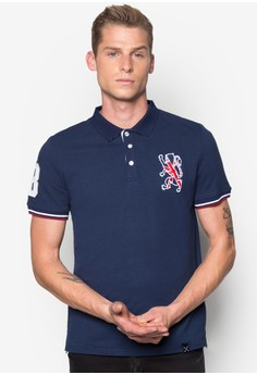 Polo Shirt with Embroidery Details