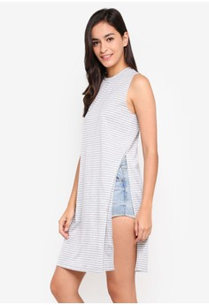 Knit Tank Tunic Top