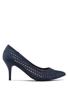 826bc55fc824 ... NOW RM 76.90 Available in several sizes. BETSY navy Bernice Laser Cut  Heels 8DBDCSH3B129A7GS 1