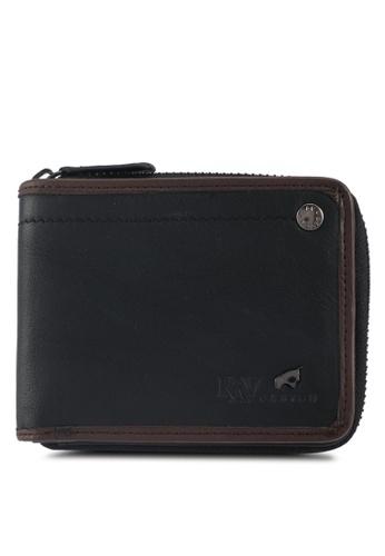 RAV Design black Leather Wallet A23EEAC93D990EGS_1