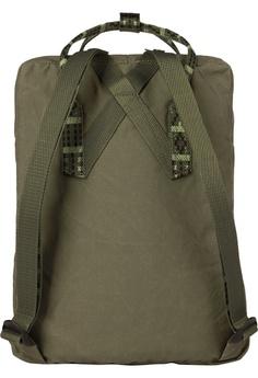 3778f2bf37 Fjallraven Kanken Green-Folk Pattern Kanken Classic Backpack HK  780.00.  Sizes One Size